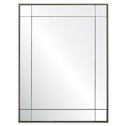 Melissa Modern Classic Gilded Silver Leaf Mirror