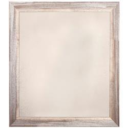 Schooner Coastal Beach Distressed Grey White Gilt Antique Mirror