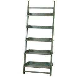Laredo Global Bazaar Jade Reclaimed Fir Etagere Bookcase