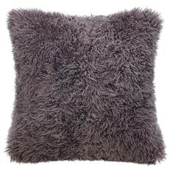 Grable Modern Java Curl Long Wool Pillow - 22x22
