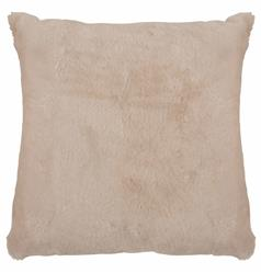 Argali Modern Pearl Short Wool Sheepskin Fur Pillow - 22x22