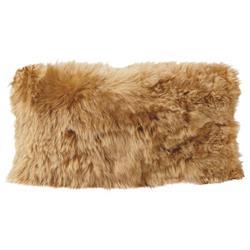 Suri Modern Carmel Peruvian Alpaca Lumbar Pillow - 11x22