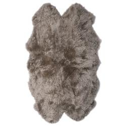 Veruca Modern Pebble Sheepskin 4 Pelt Fur Rug