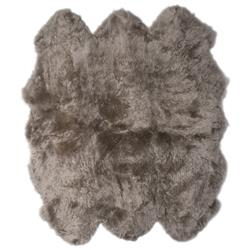 Veruca Modern Pebble Sheepskin 6 Pelt Fur Rug