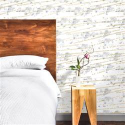 Flock Industrial Loft Sunrise Gold Removable Wallpaper