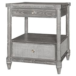 Magnalia Coastal Beach Grey Limed Oak Nightstand