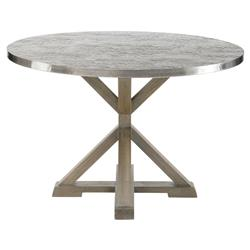Lapo Industrial Loft Portobello Mindi Wood Round Dining Table