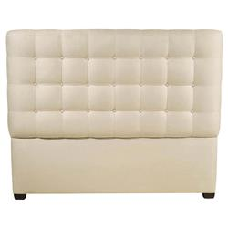 Nimbus Classic Button Tuft Cream Upholstered Queen Headboard