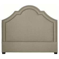 Ferdinand Global Bazaar Moss Nail Head Upholstered Queen Headboard