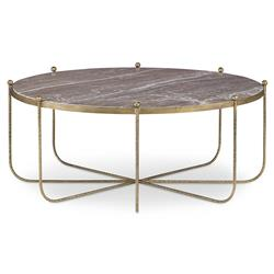 Mr. Brown Tangmere Global Granite Gold Spindle Coffee Table