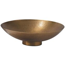 Bengaluru Global Bazaar Antique Brass Finish Bowl Medium