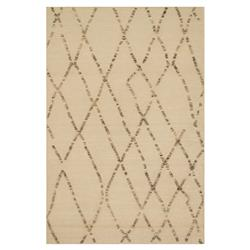 Leila Global Cross Hatch Beige Flat Weave Rug - 3'6x5'6