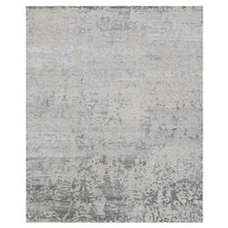 Olvin Hollywood Antique Grey Distressed Pattern Rug - 2x3