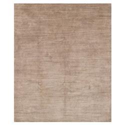 Sorner Modern Classic Beige Rose Dash Wool Silk Rug - 2x3