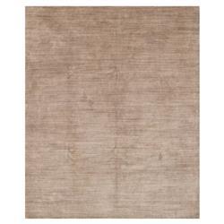 Sorner Modern Classic Beige Rose Dash Wool Silk Rug - 5'6x8'6