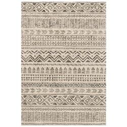 "Loloi Emory Global Bazaar Stone Grey Cave Drawn Patterned Rug - 3'10""x5'7"""