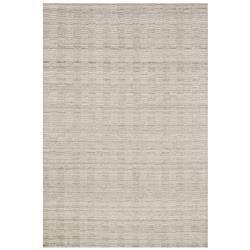 "Loloi Hadley Modern Classic Oat Grey Pile Loop Wool Solid Rug - 3'6""x5'6"""