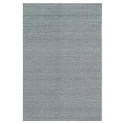 Tierra Coastal Bazaar Navy Blue Polygon Flat Wool Rug -3'6x5'6