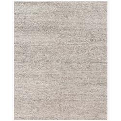 """Flint Modern Classic Ivory Grey Stria Wool Rug - 5'6""""x8'6"""""""