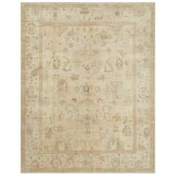 "Forrest French Antique Tan Stone Wool Rug - 8'6"" x 11'6"""