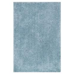 Zazu Modern Classic Light Blue Cozy Shag Rug - 3'6x5'6