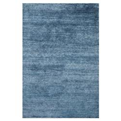 Gabi Hollywood Regency Blue Bamboo Silk Rug - 5'6x8'6