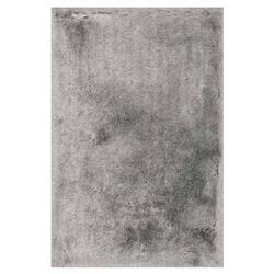 """Adrienne Modern Skinny Platinum Shag Rug - 3'6""""x5'6"""""""
