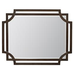 Crawford Caviar Regency Rectangular Wood Mirror