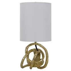 Regina Andrew Mini Classic Rustic Gold Knot Mini Lamp