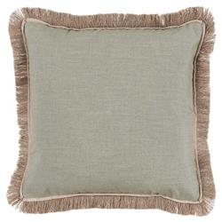 Talli Regency Fringe Sage Outdoor Pillow - 20x20