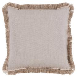 Talli Regency Fringe Silver Outdoor Pillow - 20x20