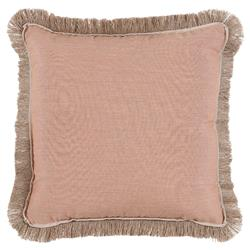 Talli Regency Fringe Rose Outdoor Pillow - 20x20