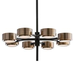 Arteriors Jalen Modern Classic Bronze Spoke Antique Brass Chandelier