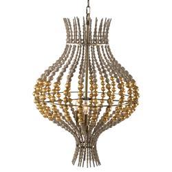 Cipollini Modern Classic Gold Bead Grand Orb Pendant