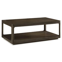 Robin Modern Classic Polished Teak Cube Coffee Table