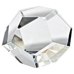 Regina Andrew Modern Classic Cut Clear Crystal Sculpture - S