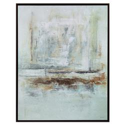 Narnia Modern Classic Ethereal Silver Framed Wall Art