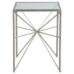 Vana Modern Classic Silver Iron Burst End Table
