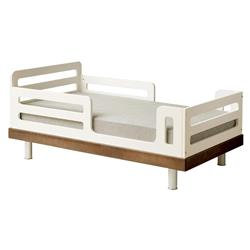 Oeuf Classic Modern Toddler Bed - Walnut