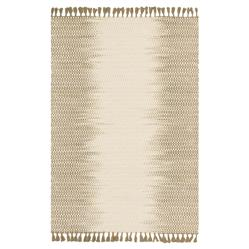 Tilly Global Olive Ombre Woven Wool Rug - 3'6x5'6