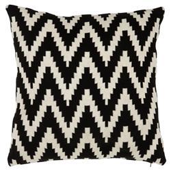 Eichholtz Global Black White Chevron Decorative Pillows - 20x20