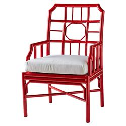 Rama Global Bazaar Regeant Outdoor Armchair - Red