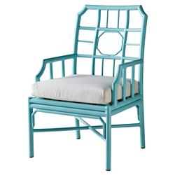 Rama Global Bazaar Regeant Outdoor Armchair - Sky Blue