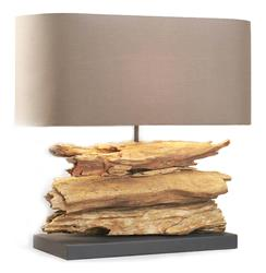 Riverine Natural Driftwood Wood Contemporary Table Lamp