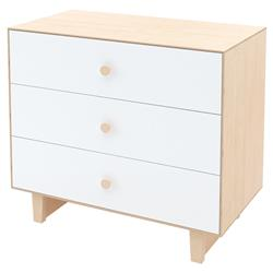 Rhea Classic 3 Drawer Dresser - Birch