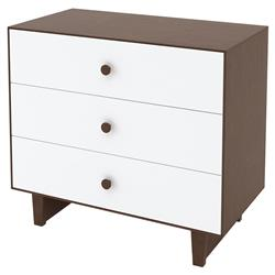 Rhea Classic 3 Drawer Dresser - Walnut