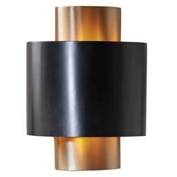 Baila Modern Classic Antique Bronze Oval Sconce