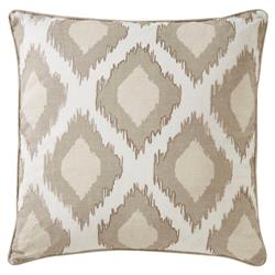 Nevaeh Global Natural Glam Medallion Linen Pillow - 22x22