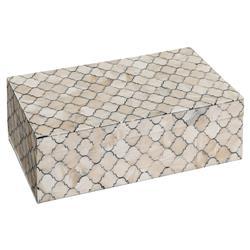 Regina Andrew Bazaar Mosaic Bone Inlay Box - Large
