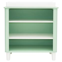 Jeanie Modern Scandinavian Mint Green Wood Changing Table